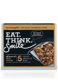Eat.Think.Smile™ Chewy Granola Bars