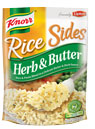 Knorr Rice Sides Herb Butter