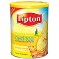 Lipton Sweetened Iced Tea Mix, Lemon