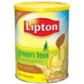 Lipton Sweetened Iced Tea Mix, Green Tea Honey & Lemon
