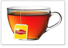 LIPTON® Ginger Twist Herbal tea