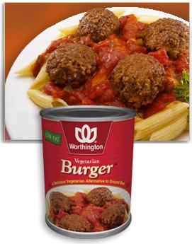 Worthington Vegetarian Burger