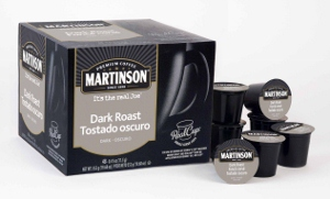 Martinson Dark Roast Coffee Capsules