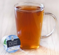 Higgins & Burke English Breakfast Tea in a mug