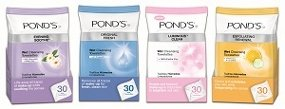 Pond's Towelettes.