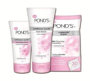 Pond's Luminous Skincare.