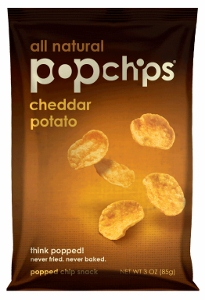 Bag of Cheddar Popchips