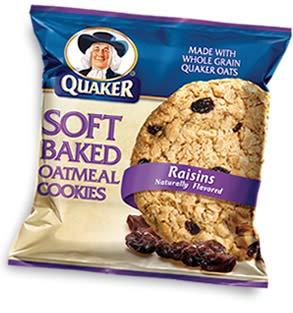 Quaker Soft Baked Raisins  Quaker Oatmeal Raisin Cookies