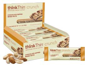 thinkThin Crunch lower sugar