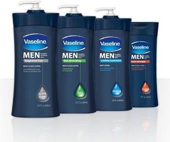 Vaseline Men Product Line.