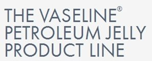 Vaseline Petroleum Jelly Product Line.