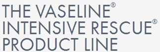 Vaseline Intensive Rescue Product Line.