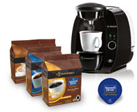 Maxwell House café collection house blend decaffeinated coffee for Tassimo coffeemaker