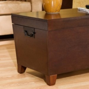 Simple The Storage Trunk Coffee Table ships in one carton and requires assembly