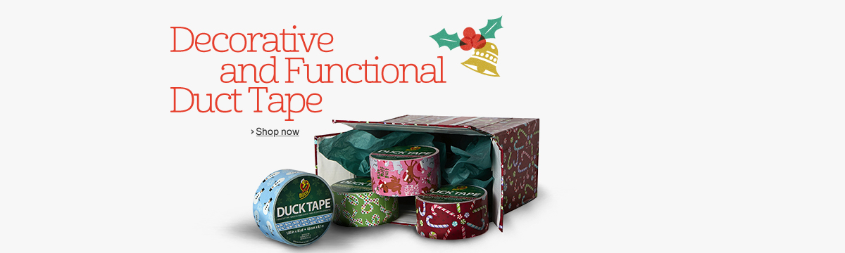 Decorative and Functional Duct Tape