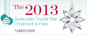 Swarovski 2013 Crystal Ornament