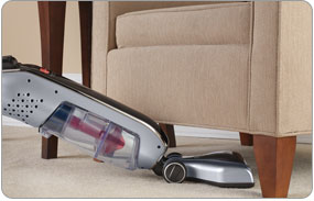 Platinum Collection� LiNX Cordless Stick Vacuum with Low Profile Base