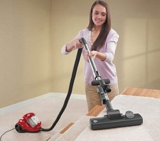 Dirt Devil Featherlite Canister Vacuum Cleaner