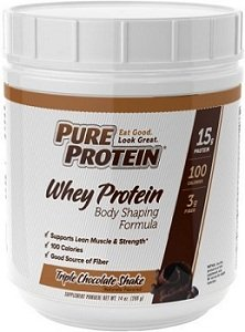 Amazon.com: Pure Protein Body Shaping Formula Protein Powder, Rich Chocolate, 14 Ounce: Health