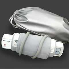 Monitor de Pressão Arterial Panasonic EW3109W portátil Braço superior com uma bolsa de viagem incluído