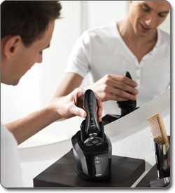 Philips Norelco SensoTouch 2D Electric Razor with Jet Clean System
