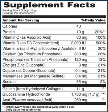 Osteo bi flex ingredients