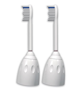 Philips Sonicare HX7002/30 e-Series Replacement Brush Heads, 2-Pack (Frustration Free Packaging) Product Shot