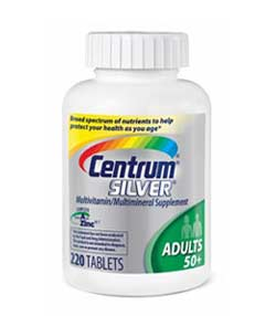 Centrum Multivitamin/Multimineral Supplement, for Adults 50+, Tablets , 150 tablets Product Shot