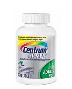 Centrum Adult 50+ Multivitamin, 220 Count Bottle