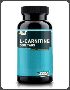 Optimum Nutrition L-CARNITINE 500 TABS