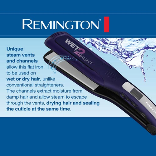 Amazon Com Remington S8001g Wet 2 Straight Wide Plate