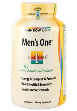 Rainbow Light Men's One Multivitamin (150 Tablets) Product Shot