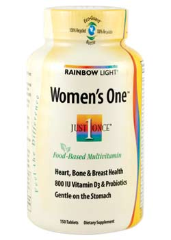Rainbow Light Women's One Multivitamin (150 Tablets) Product Shot