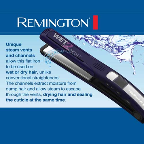 Amazon Com Remington S7901 Wet 2 Straight Slim Plate Wet
