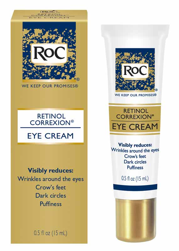 Amazon.com : RoC Retinol Correxion Eye Cream, 0.5 Ounce