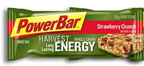 PowerBar Harvest Energy Bar, Strawberry Crunch (Pack of 15)