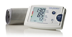 LifeSource Quick Response Auto Inflate Blood Pressure Monitor (UA-787EJ) Product Shot