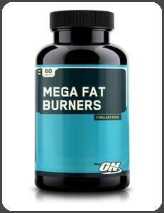 Optimum Nutrition MEGA FAT BURNERS