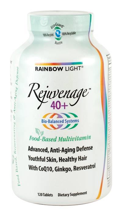 rainbow light rejuvenage 40 multivitamin 120 tablets. Black Bedroom Furniture Sets. Home Design Ideas