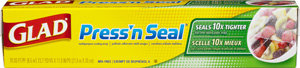 Glad Press'n Seal Plastic Wrap, 70-Square-Foot Rolls (Pack of 12) Product Shot