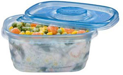 GladWare Soup & Salad Reusable Plastic Containers, 5-Count Package of 24-Ounce Containers and Lids (Pack of 6) Product Shot
