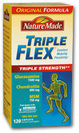 Nature Made TripleFlex Triple Strength (120 caplets) Product Shot