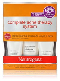 Neutrogena Acne Therapty System