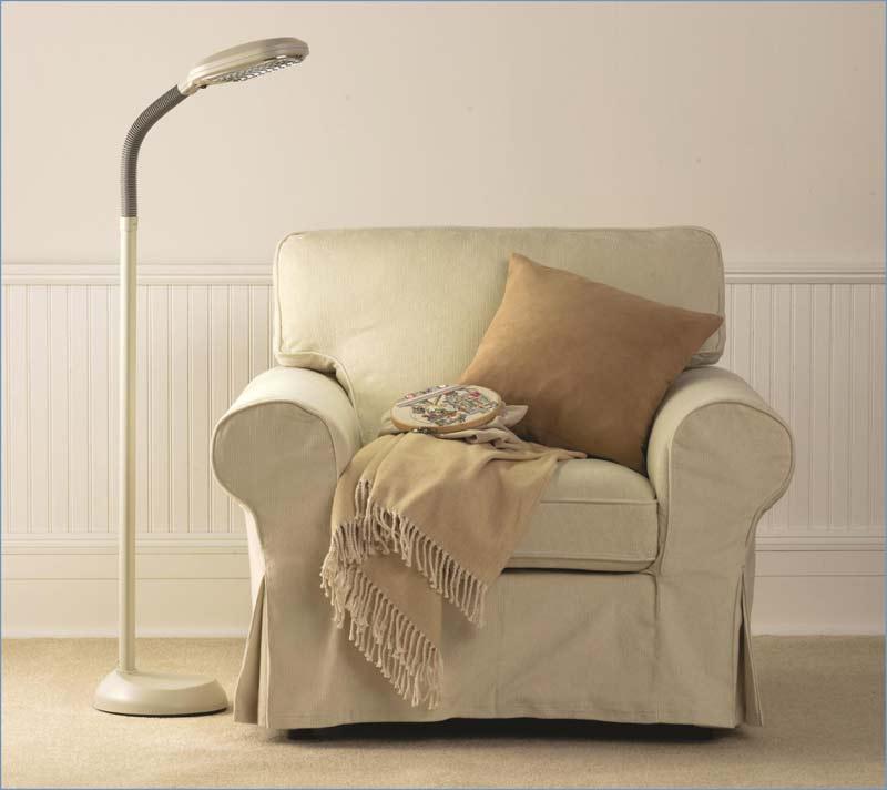 Verilux original natural spectrum deluxe floor for Natural light reading floor lamp