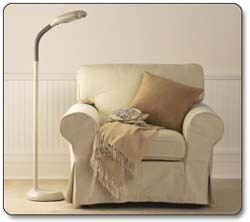 Verilux Original Natural Spectrum Floor Lamp, Ivory Product Shot
