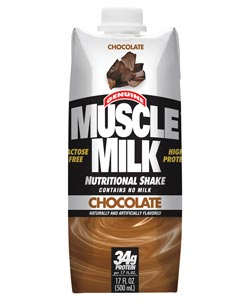 CytoSport Muscle Milk Ready-to-Drink Chocolate (12-pack of 17-ounce cartons) Product Shot