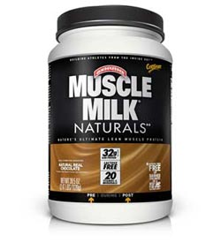 CytoSport Muscle Milk Naturals Chocolate (2.47 Pounds) Product Shot