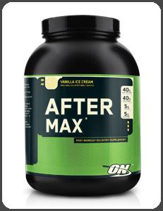 Optimum Nutrition AFTER MAX, Vanilla Ice Cream