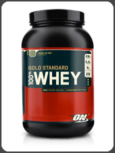 Optimum Nutrition GOLD STANDARD 100% WHEY, Chocolate Mint