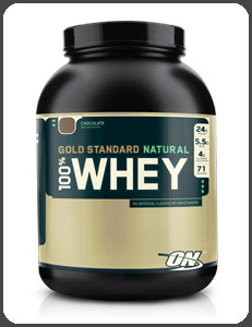 Optimum Nutrition GOLD STANDARD NATURAL 100&#37; WHEY, Natural Chocolate